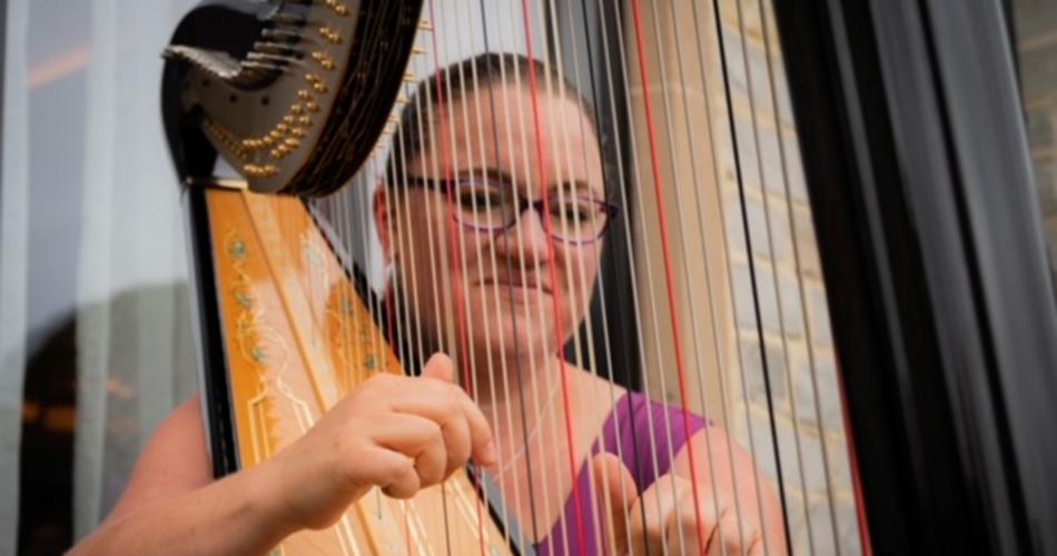 Image 1: Rebecca Barnes Harpist