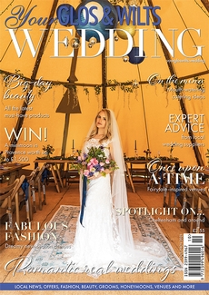 Cover of Your Glos & Wilts Wedding, October/November 2021 issue
