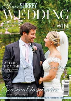 Cover of Your Surrey Wedding, October/November 2021 issue