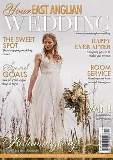 Cover of Your East Anglian Wedding, October/November 2021 issue