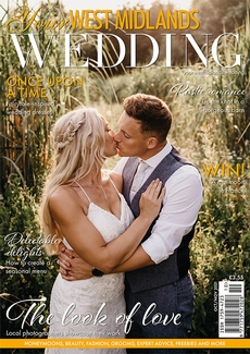 Cover of Your West Midlands Wedding, October/November 2021 issue