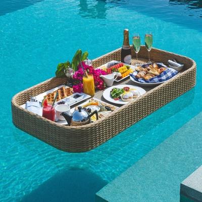Enjoy a floating breakfast on honeymoon to the Maldives