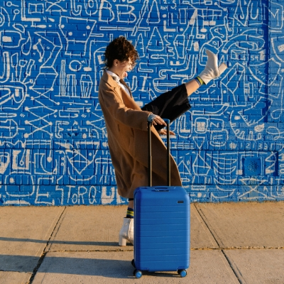 Away launches suitcase collection in Classic Blue - Pantone's Colour of the Year