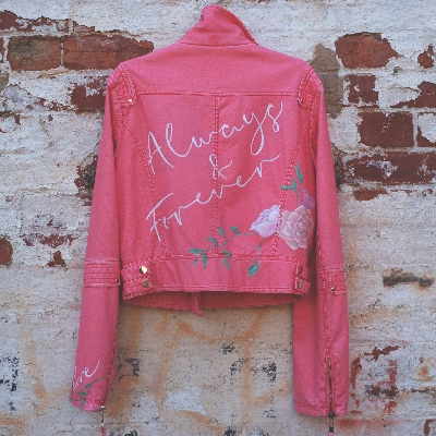 These hand-painted and embroidered bridal jackets are perfect for the big day