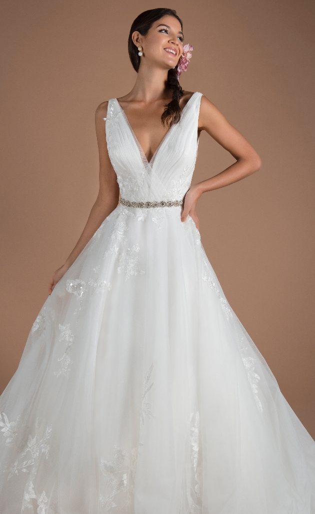 Beautiful wedding dress from Millie May Bridal
