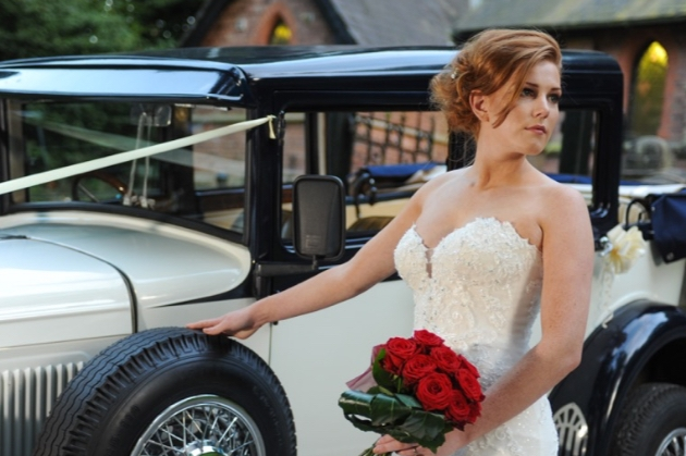 Wedding Wheels LTD vehicle's created stunning backdrops for images