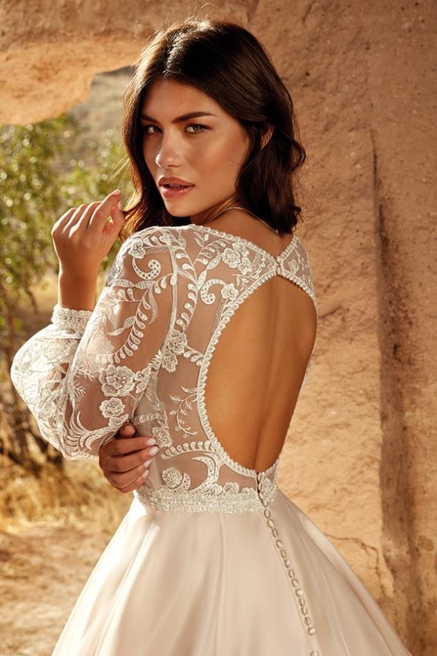 A beautiful dress designed by Eddy K