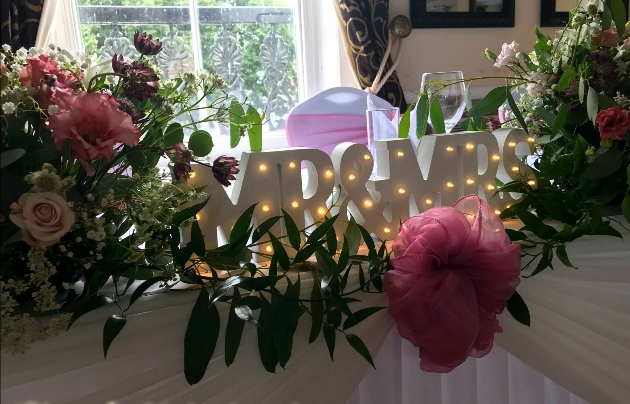 Beautiful floral created by  EventExquisite Ltd