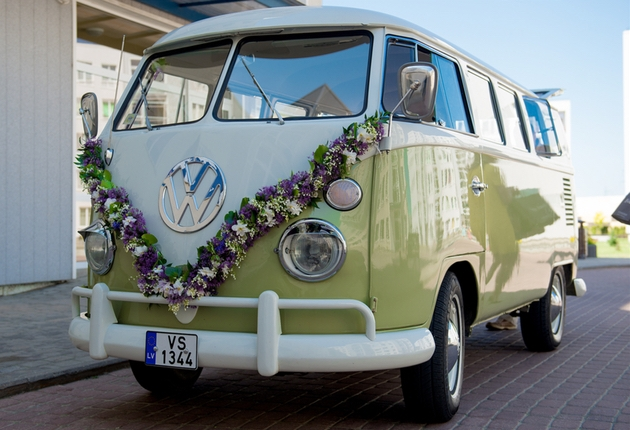 Beautiful Campervan which is perfect for a rustic or summer wedding