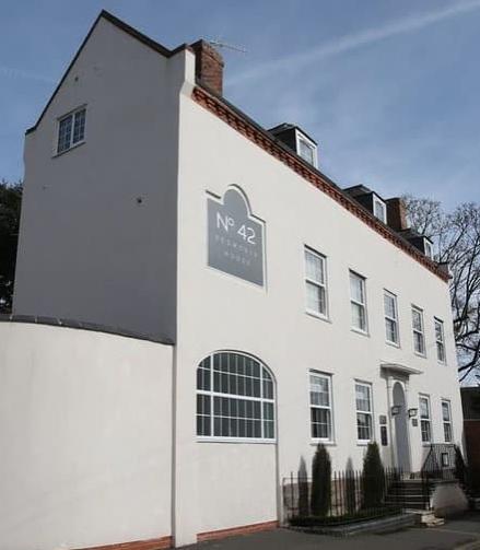 The exterior at No42 Kegworth House