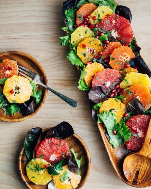 Beautiful dish created by Twenty Four Carrot Catering