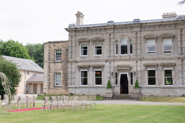 The beautiful exterior at Cleatham Hall