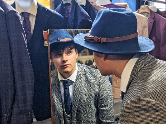 Stylish suits available at Blidworth Menswear