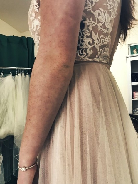 Beautiful gown available at Blush by Jena Louise