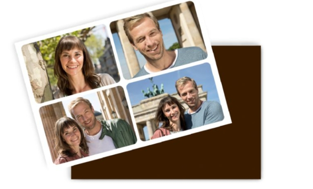magnet of montage of photos